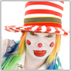 whiteface clown