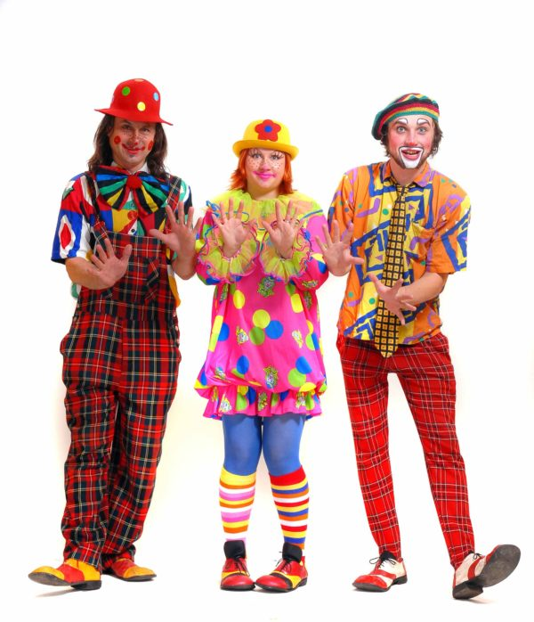 clowns-acting